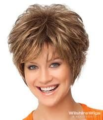 women sassy hair short with wispies - Google Search