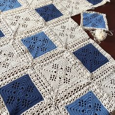 Project Gallery for Victorian Lattice Square ~ free pattern ᛡ