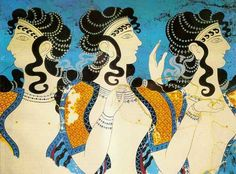 Ancient Egyptian Art, Ancient Aliens, Ancient Greece, European History, Art History, American History, Minoan Art, Mediterranean Art, Greek Paintings