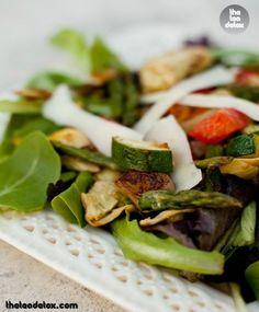 Grilled Vegetable Salad!!  #theteadetox #diet #detox #grilled #salad