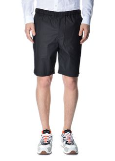 Theory - Spring Summer 2015 - Menswear // Black Grego S Bemison Chintz Shorts