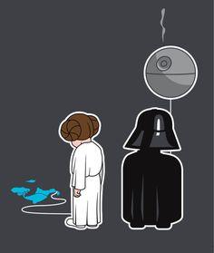 Poor Princess Leia.