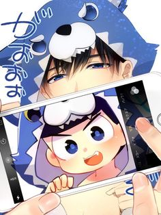 Image about osomatsu san in ᴏsᴏᴍᴀᴛsᴜ-sᴀɴ by ad astra All Anime, Anime Art, Osomatsu San Doujinshi, Sans Cute, Gekkan Shoujo Nozaki Kun, Happy Tree Friends, Kawaii Chibi, Anime Kunst, Ichimatsu