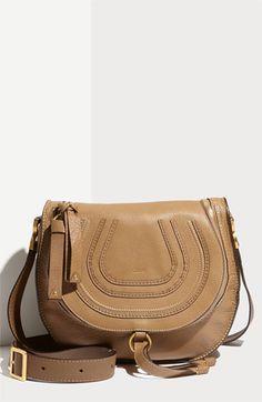 d7bc0a69d305 Chloé  Marcie  Leather Crossbody Bag