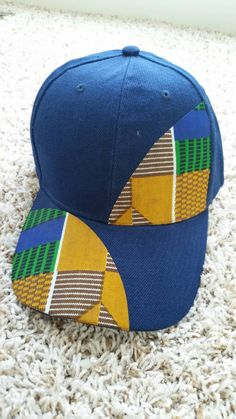 Check out this item in my Etsy shop https://www.etsy.com/listing/238766474/ekoti-unisex-ankara-cap-navy