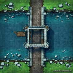 Afternoon Maps is creating RPG and DnD battlemaps Dnd World Map, Fantasy World Map, Fantasy Places, Fantasy City, Fantasy Battle, Dungeons And Dragons Homebrew, D&d Dungeons And Dragons, Rpg Map, Dungeon Maps