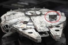 The replacement dish after Lando drove the falcon in episode 6.