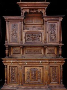 1391: Palatial 19th Century French Cabinet w/Very Fine : Lot 1391