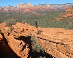 Top Ten Things to do in Sedona, Arizona Hike to Devil's Bridge:  This two-mile round trip will put you on top of the largest stone arch in Sedona.