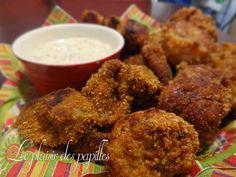 Le plaisir des papilles: ~Pépites de poulet croustillantes et sa sauce moutarde au miel~