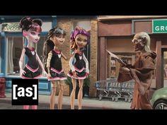 Monster High Vs. Cryptkeeper | Robot Chicken | Adult Swim - YouTube