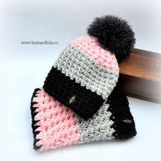 Crochet Kids Hats, Knitting For Kids, Free Crochet, Knitted Hats, Knit Crochet, Beginner Crochet Projects, Crochet Winter, Drops Design, Headbands
