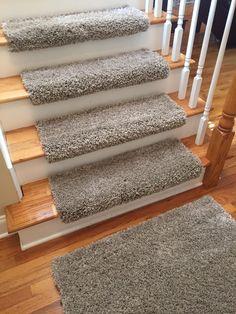 plush shag true bullnose carpet stair tread for safety comfort dog cat pet sold each - Bullnose Stair Tread