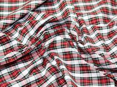 Cotton Tartan Check Dress Fabric | Fabric | Dress Fabrics | Minerva Crafts