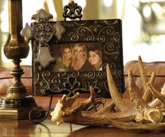 Cowgirl picture frame, western picture frame, western home decor, rustic home de