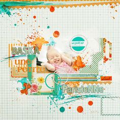 #papercraft #scrapbook #layout  By Ania-Maria