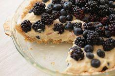 Raw Berry Pie w/ Coconut & Almond Crust
