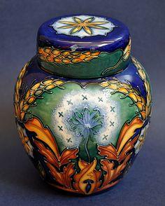 Moorcroft Pottery King Lear Ginger Jar
