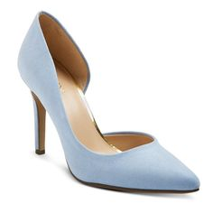 Women's d'Orsay Lainee Pumps with 3.75 Heels Merona - Blue 7.5
