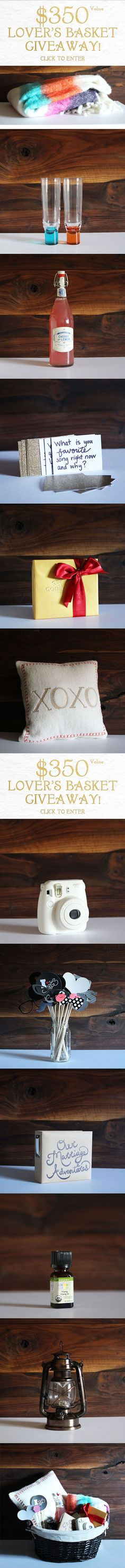 The Perfect Marriage Date: The Lover's Basket Giveaway – $350 Value click the image to enter.