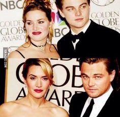 kate winslet, leonardo dicaprio, then and now, older better, wow, couple, hollywood, nice, kate winslet & leonardo dicaprio, titanic