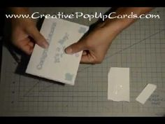 Baby Shower Pop Up Card: Pacifier Tutorial *Downloadable Template*