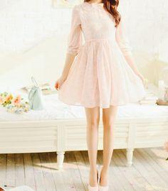 Image via We Heart It https://weheartit.com/entry/106232000/via/15609426 #asian #asianfashion #cute #dress #fashion #fit #floral #girl #girly #gorgeous #inspiration #kawaii #kfashion #korean #pastel #pink #shoes #tumblr #ulzzang #vintage #ulzzanggirl #kstyle #womensfashion #model