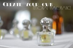 PERFUME BALM: DIY PERFUME BALM 2 X 15 ml/ 0.5 fl oz sterilized tins, jars or lip balm tubes 1 Tbsp grape seed or sweet almond oil 1 generous Tbsp finely grated beeswax 80 drops essential oil 1. Blend the essential oils. 2. Combine carrier oil with beeswax in a heat resistant bowl. Warm over saucepan of simmering water until beeswax has melted. Remove from heat. 3. Add essential oil blend, stir well. Decant into containers. Cool. Essential Oil Perfume, Perfume Oils, Essential Oils, Diy Parfum, Coconut Oil Lotion, Perfume Recipes, Lip Balm Tubes, Homemade Beauty Products, Natural Products