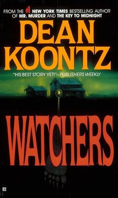 Watchers, Dean Koontz. ( those of us with Goldens can relate!)