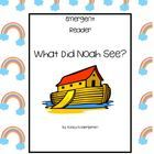 This is a great predictable book for young students.  Students can draw the animals Noah saw on the Ark or use the pictures included in this pack....