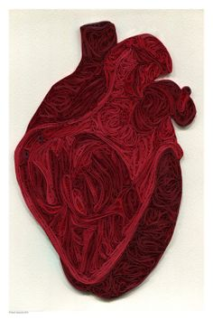 Quilled Anatomy byYakawonis Quilling