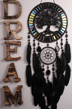 Dream Catcher Black quartz Tree life agate Dreamcatcher Dream сatcher agate dreamcatcher decor handmade unique gift birthday Present wedding http://etsy.me/2n6WXI7 #dreamcatcher #decorhome #agate #black #treeoflife #dreamcatcher #largedreamcatcher #dreamcatcherboho