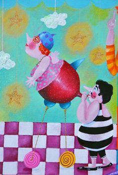 Alexia Molino - Quanto più ci innalziamo, tanto più piccoli sembriamo a quelli che non possono volare (38x45,5)
