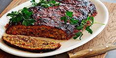 Roasted Vegetable Meatloaf with Balsamic Glaze Recipes | Food Network Canada