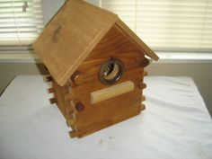 knobs birdhouse