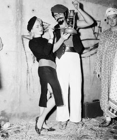 University of Southern California sewer party, Los Angeles, 1958