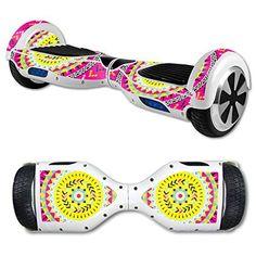 Pink Aztec Hoverboard Segway Skins