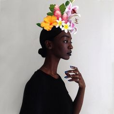 loza maleombho  Some of the other loa love flowers too, but She cherishes them.
