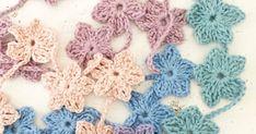 Ondanks dat het vriest, wat ik heerlijk vind, even dat echte wintergevoel, zag ik dat de hortensia's in de tuin al uitlopen, kleine... Baby Converse, Crochet Flowers, Crochet Stitches, Crochet Earrings, Crochet Things, Knitting, Gifts, Diy, Shopping