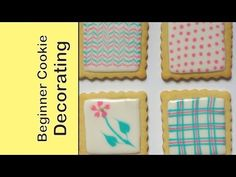 How to decorate cookies with royal icing - the basics