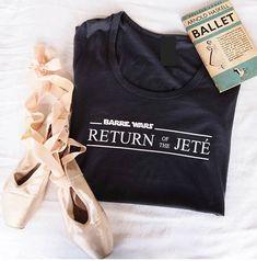 Barre Wars tee - Ballet tshirt - Ballet t-shirt - Ladies ballet tshirt - Dance slogan tshirt - Dance quote tshirt - Dance tshirt