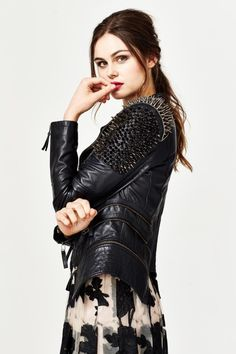 Black Tie to Turn Heads Trelise Cooper 'Prickles and Dimes' jacket http://trelisecooperwellington.co.nz/