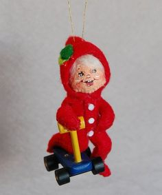 Annalee Dolls Christmas Morning PJ Kid Ornament | zulily