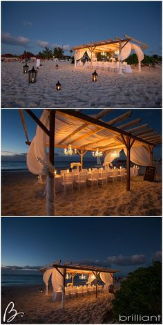 beach wedding reception outdoor chandelier and love the pergola