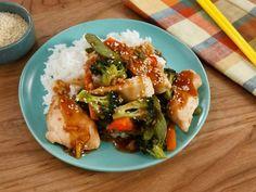Recipe Sheets, Homemade Teriyaki Sauce, Teriyaki Chicken, Chicken And Vegetables, Turkey Recipes, Dinner Recipes, Sheet Pan, Vegetable Recipes, Food Network Recipes