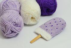 Barbe à papa: Eis Häkelanleitung / Ice Cream Crochet pattern EASY