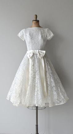 Little Dreamer dress vintage 1950s wedding dress by DearGolden