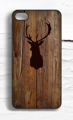 iPhone Stag Wood Pattern Case- Harry Potter?