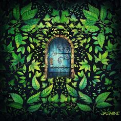 @omgjasmineomg - #coloring_secrets #秘密花园 #JardimSecretoTop... - Pikore