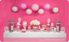 Mesa de Candy Bar para primera comunión